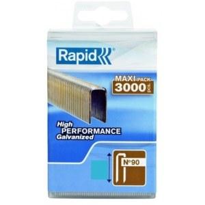 Häftklammer  Rapid; 5,7x25 mm; 3000 st.; typ 90