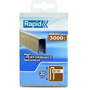 Häftklammer  Rapid; 5,7x30 mm; 3000 st.; typ 90