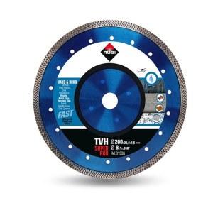 Diamantkapskiva för våtskärning Rubi TVH 200 SuperPro; 200 mm