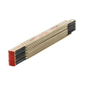 Trä Fällbar linjal Sola HC 2/10; 2 m