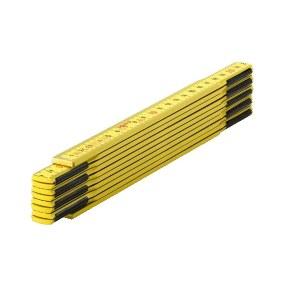 Trä Fällbar linjal Sola HG 2/10; 2 m