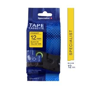 Tejp för klistermärken och etiketter Specialist 31/2-AZE631; 12 mm; 8 m