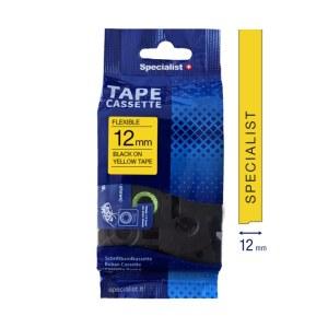 Tejp för klistermärken och etiketter Specialist 31/2-FX631; 12 mm; 8 m