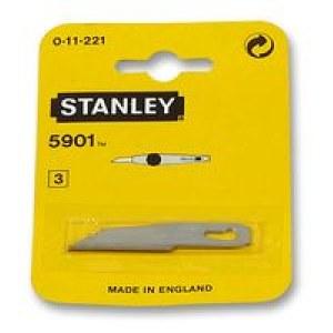 Reservblad Stanley; 60 mm; 3 st.