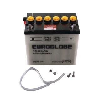 Batteri Stiga 1134289201; 12 V; 24 Ah