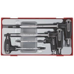 Skruvmejselsats Teng Tools TTTX7; 7 st.