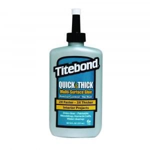 Universell lim Titebond Quick & Thick Multi-Surface Glue; 237 ml