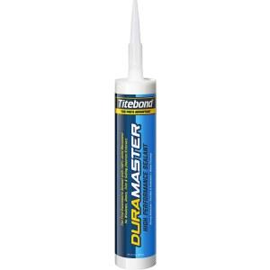 Tätningsmedel för inomhus och utomhus arbete Titebond DuraMaster White; 300 ml; vit