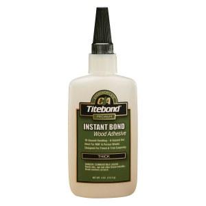 Universell instant lim Titebond Instant Bond Thick; 118 ml; trögflytande