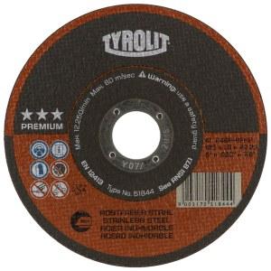 Kapskiva Tyrolit; Ø125x1,6 mm; 1 st.