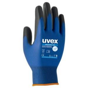 Handskar Uvex Phynomic Wet; 3131X; 9 storlek; fuktmotståndig; blå