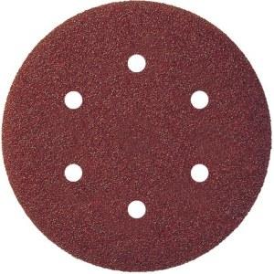 Sandpapper för excenterslipar Virutex; 125 mm; P400; 8 st.