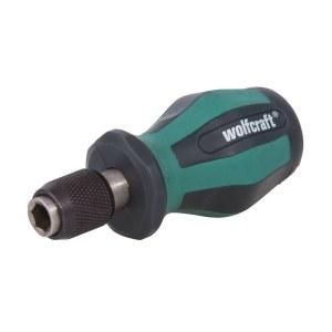 Skruvmejselskaft Wolfcraft 1239000; 1/4''; 90 mm