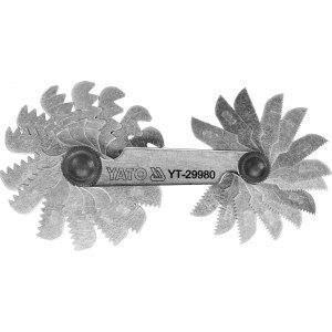 Gängmätare Yato YT-29980; 0,25-6,0 mm
