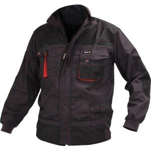 Jacka Yato YT-80144; XL; svart/röd